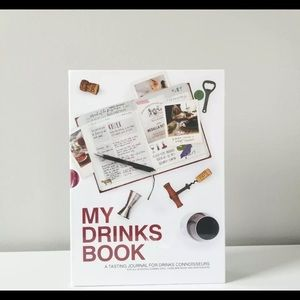 My drinks Book A Tasting Journal